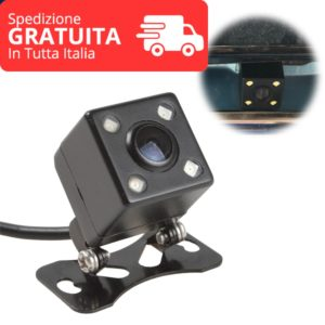 Universal Car Reverse Rear Camera 4 LED HD Night Vision 170 degree rear view reversing camera Auto Vehicle backup camera