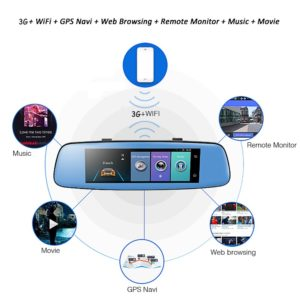 Mirror with Navigator Android 5.0 7.84 pollici hd 1