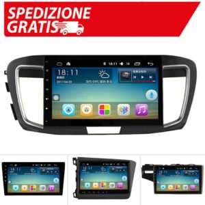 Autoradio android per Honda Accord 2003 2007 Navigation For Civic CRV Quad Core 10/9 pollici