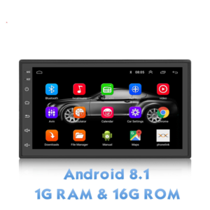 Autoradio S6 2 Din Android 8.1 Car Stereo 1080P 7 Inch Quad Core  Per Nissan Toyota 8.1