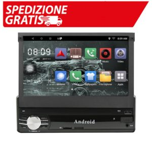 Autoradio T1 1 Din Android 8.1 / 6.0 Car Multimedia 7 Inch Quad Core 1G16G/ 2G16G